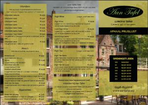 menukaart-aantafel